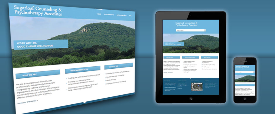 Sugarloaf Counseling Responsive Website Design